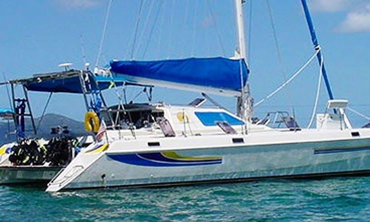 44' Cruising Catamaran Rental in the Virgin Islands