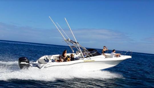 Enjoy Fishing In Le Morne, Mauritius On 29' Bowrider