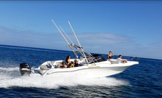 Enjoy Fishing In Le Morne, Mauritius On 29' Bowrider