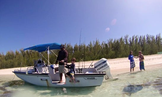 Enjoy Fishing And Touring In Abaco, Bahamas On Center Console