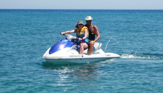 2 Person Jet Ski Rental From Rodos