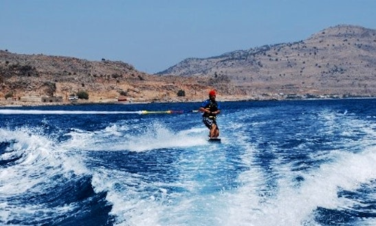Enjoy Wakeboarding In Rodos, Greece