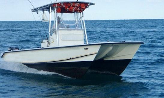 22ft Center Console Fishing Boat In Fajardo, Puerto Rico