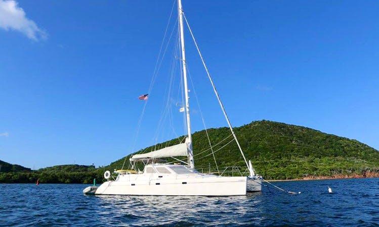 Sweet Pea Catamaran Charter In St. Thomas