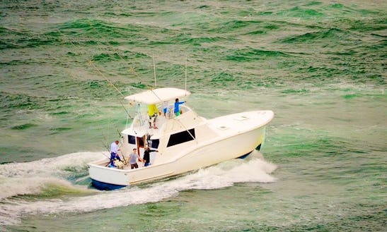 Fish Aboard The 45ft Hatteras Sportfishing Boat For 6 Person In San Juan, Puerto Rico
