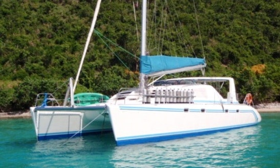 Charter Free Ingwe 45' Catamaran In Caribbean