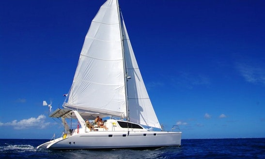 "47' Cruising Catamaran Leopard ""mojito"" Charter In Sint Maarten"