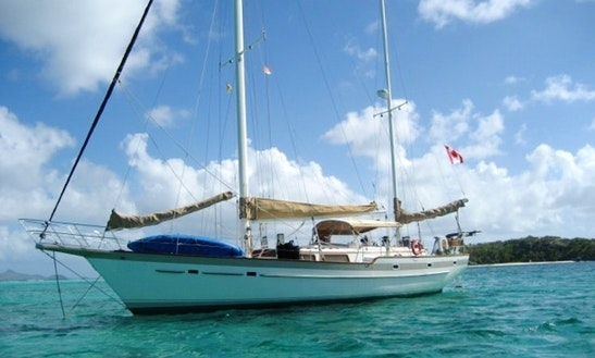 52' Irwin Ketch Sailboat In Grenadines