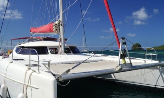 Bahia 46 Cruising Catamaran Charter In St Vincent