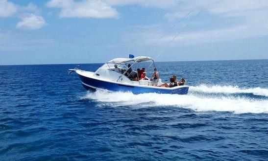 Sport Fishing On Blue Boy In Saint Lucia