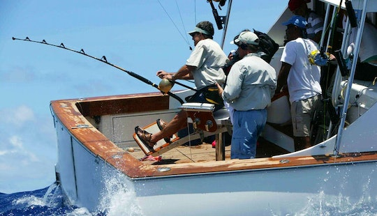 Group Sport Fishing Charter In Saint Lucia