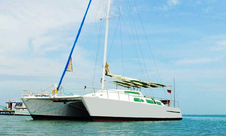 Charter 55' Yemaya Cruising Catamaran in Margarita island, Venezuela