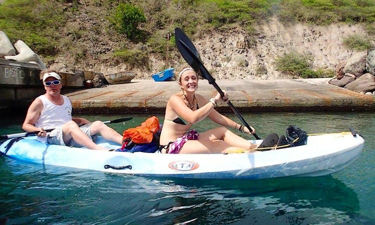 Tandem Kayak Rental in Cudjoehead, Montserrat