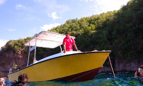 Center Console Boat Charter In Bequia, St. Vincent And The Grenadines