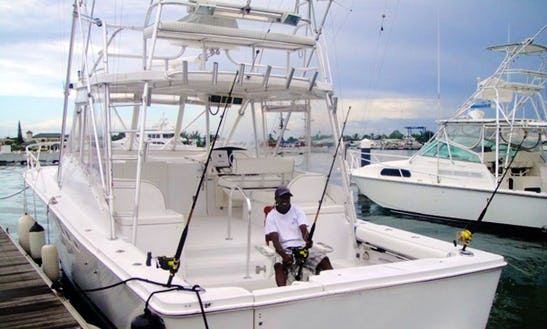 Luhrs 36 Sport Fisherman Fishing Charters In Gros Islet, Saint Lucia