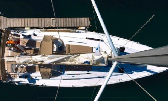 Charter 41' Hanse Cruising Monohull In Lavrion, Greece