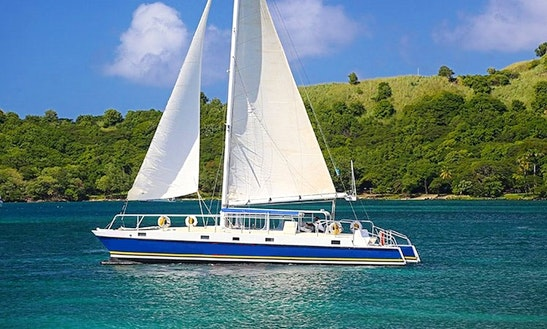 Carnival-i Sailing Catamaran Tours In St Lucia