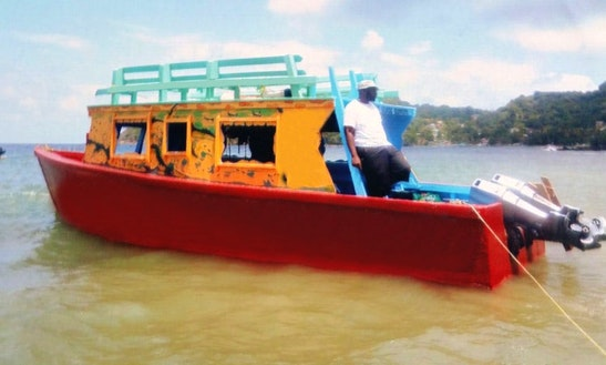 Glass Bottom Boat For Rental In Scarborough, Trinidad And Tobago