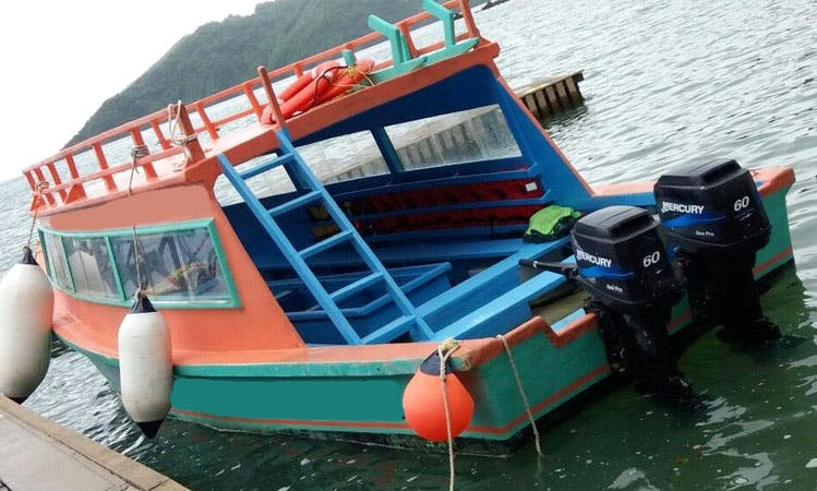 Explore Scarborough, Trinidad and Tobago - Charter a Glass Bottom Boat!