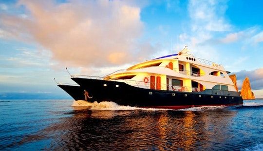 Luxury Cruise On 'ocean Spray' In The Galapagos