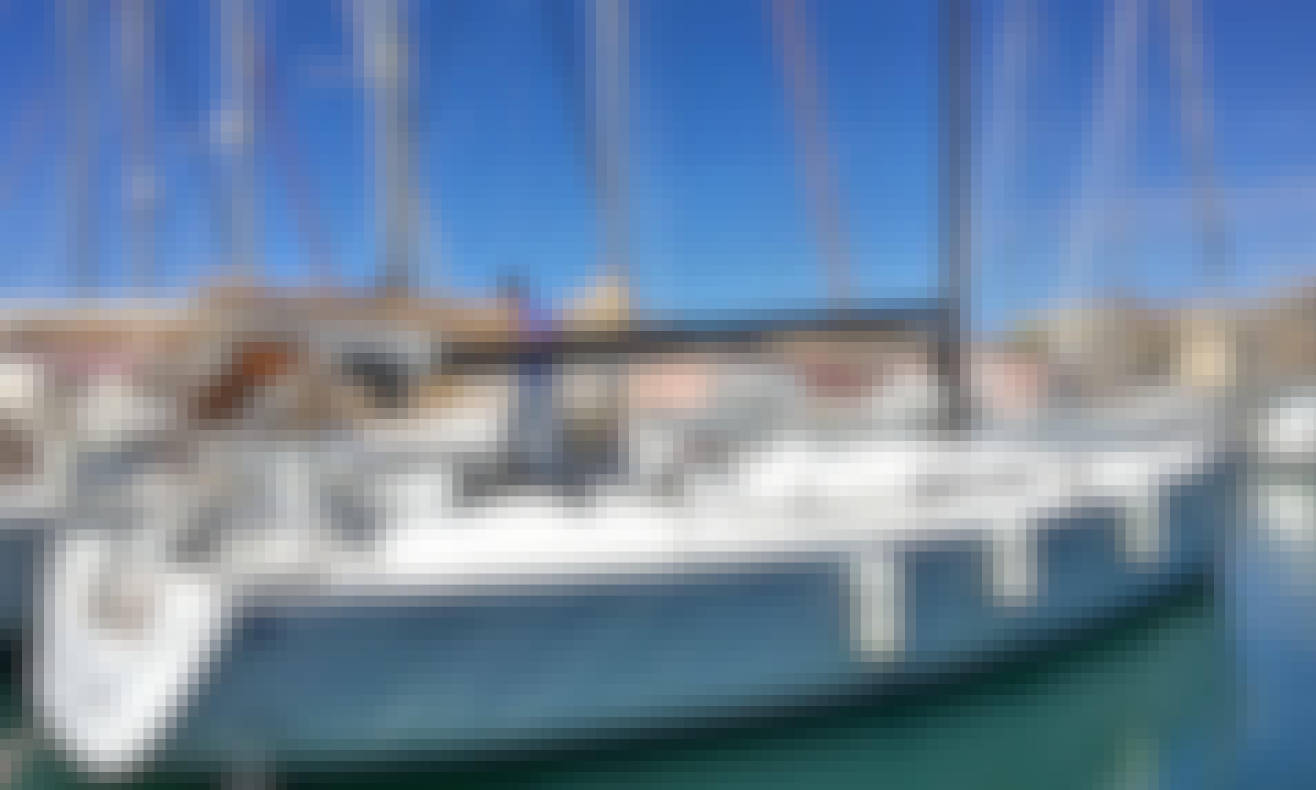 """Charter 45ft """"Pifferaio Magico"""" Comet 45S Sailing monohull In Nettuno, Italy"""