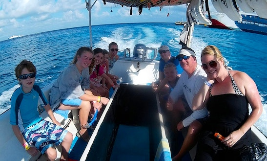 Snorkeling Day In Cozumel From Playa Del Carmen By Glass Bottom Boat