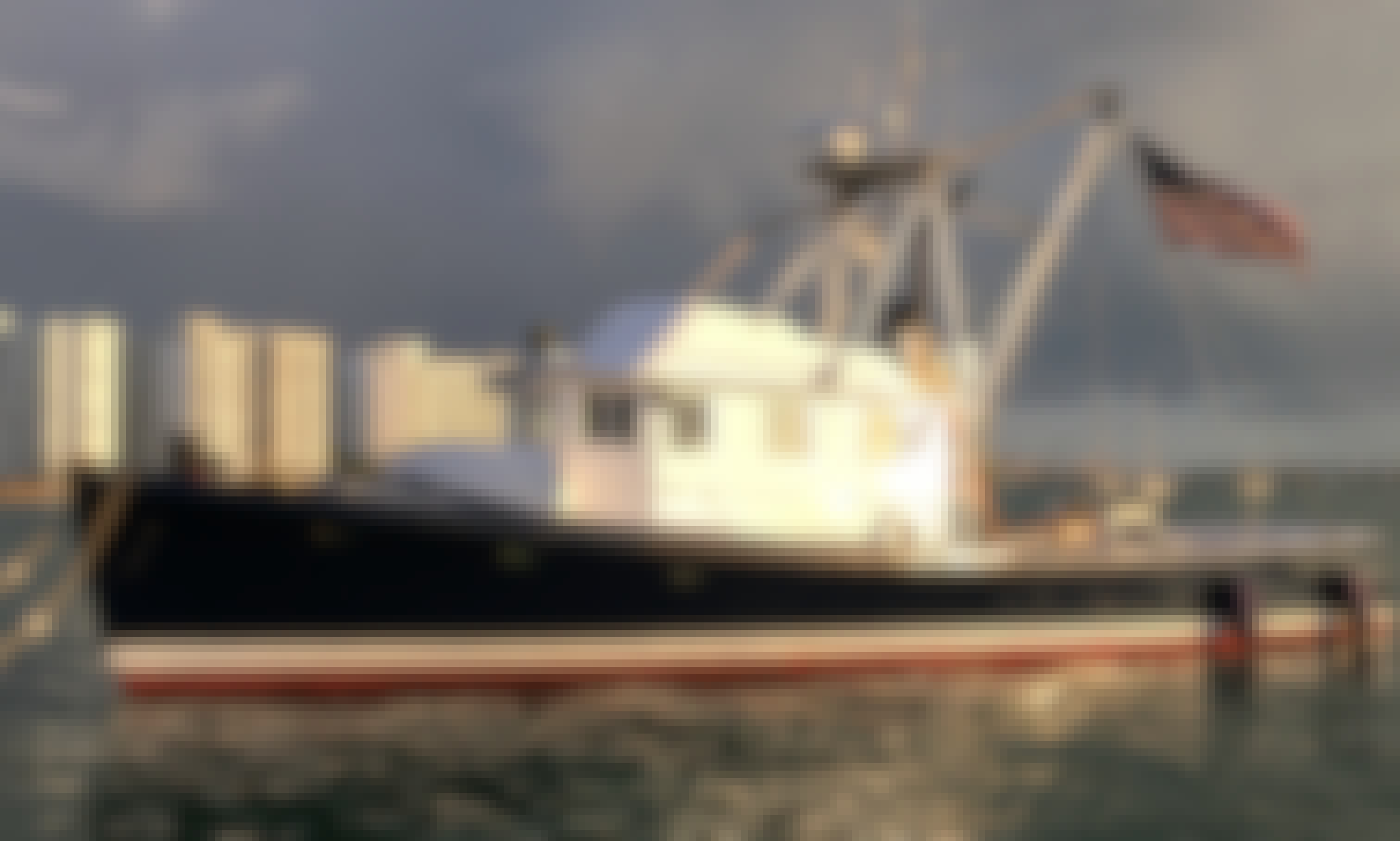 """Charter 46ft """"Blue Fin"""" Jarvis Newman Trawler In Miami Beach, Florida (With Captain Only)"""