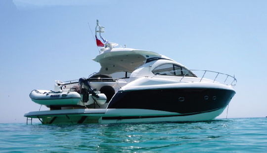 Charter 47' Sunseeker Portofino Motor Yacht In Lavrion, Greece