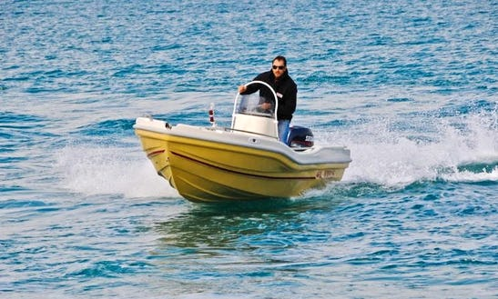 Rent Nireus 490 Center Console In Lefkada, Greece