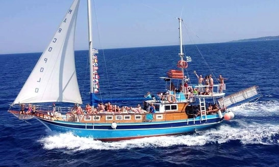 Charter The Marco Polo Gulet In Parga, Greece