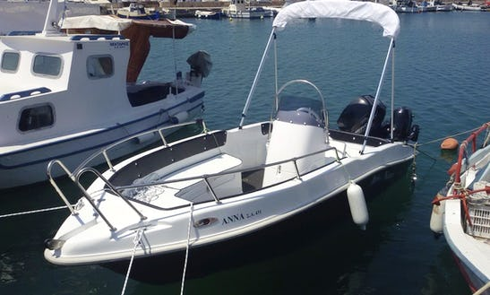 Rent 16 Nireus Center Console In Egina, Greece