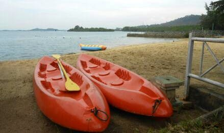 Enjoy Kayak Rentals in Sei Beduk, Indonesia