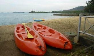 Enjoy Kayak Rentals in Tembesi, Sagulung, Indonesia