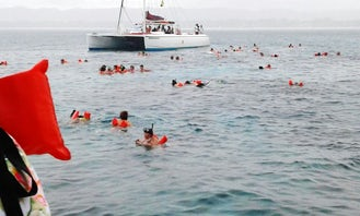 Reggae Catamaran Negril Sail Snorkel and Sunset Tour