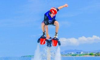 Flyboarding in Montego Bay
