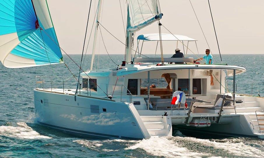 45ft Lagoon Cruising Catamaran Rental In Cape Verde