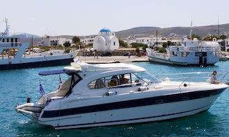 BAVARIA 37HT MOTOR YACHT FOR CHARTER IN SPETSES ISLAND, GREECE.