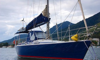 Sailboat for Day Charter and Sailing Trips in Ilhabela-SP, Brazil
