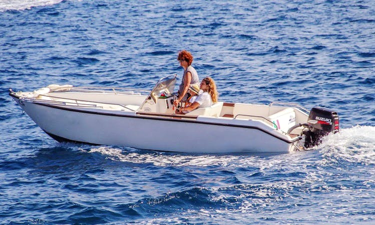 Alice Speedboat Rental in Ponza