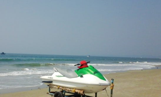 Rent A Jet Ski In Betalbatim Gonsua Beach, Goa