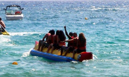 Enjoy Tubing In Betalbatim  Gonsua Beach, Goa