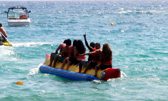 Enjoy Tubing In Majorda, Goa