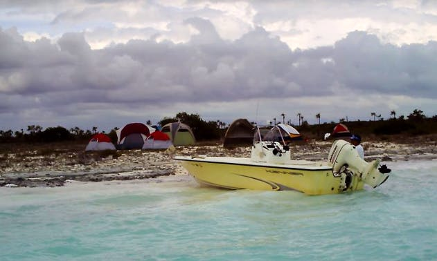 Enjoy Fishing with 4 friends  in Andros Town, Bahamas