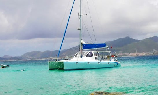 Amazing Catamaran Boat Tour In Philipsburg, Sint Maarten