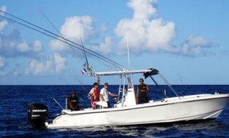 28' Center Console Rental in Basse-Terre, Guadeloupe