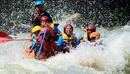 Rafting In Wampu River, North Sumatra