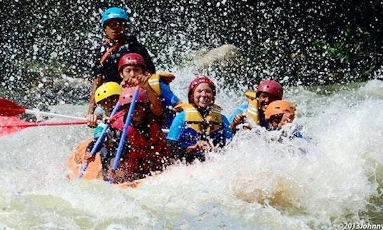 Rafting In Wampu River, North Sumatra