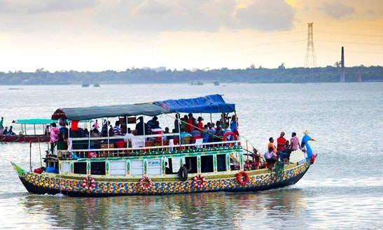 Charter Moyur Pankhi Passenger Boat In Dhaka, Bangladesh