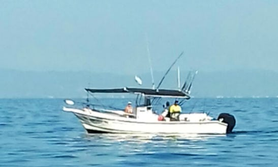Enjoy Fishing In Puerto Vallarta, Mexico On Center Console