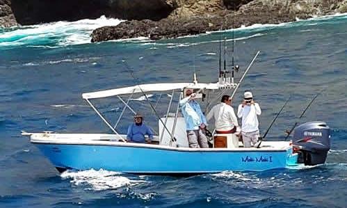 Enjoy Fishing in Liberia, Costa Rica on 23' Mako Center Console